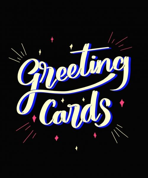 greating-cards-black